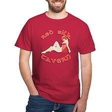 Red Silk T-Shirt
