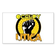 Occupy Utica Sticker (Rectangle)