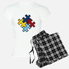 Autism Awareness Puzzle Pajamas