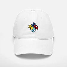Autism Awareness Puzzle Baseball Baseball Cap