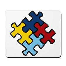 Autism Awareness Puzzle Mousepad