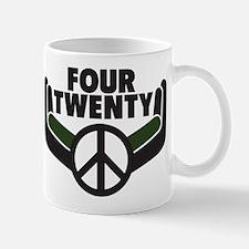 Four Twenty. Green Thumbs Unite! Mug