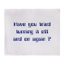 Off and On Throw Blanket