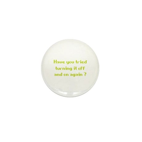 Off and On Mini Button (100 pack)