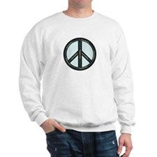 Peace. Calming Teal. Sweatshirt