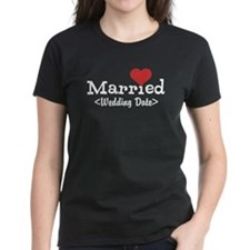 Married (Add Your Wedding Date) Tee