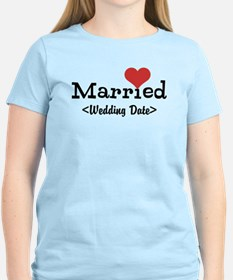 Married (Add Your Wedding Date) T-Shirt