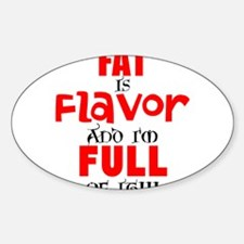 Funny Fat girls Sticker (Oval)