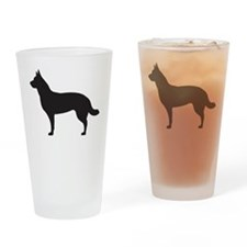 German Shepard Drinking Glass