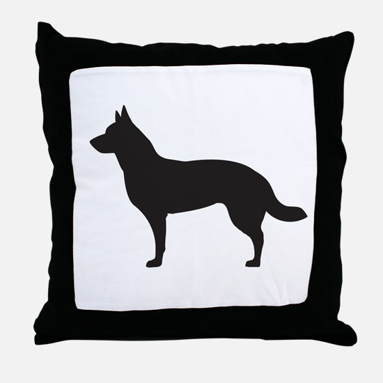 German Shepard Throw Pillow