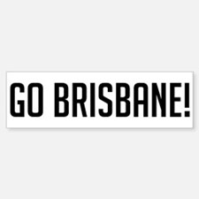 Go Brisbane! Bumper Car Car Sticker