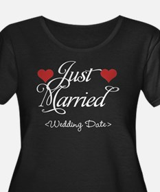 Just Marrried (Add Wedding Date) T