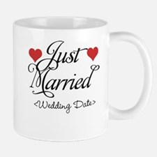 Just Marrried (Add Wedding Date) Mug