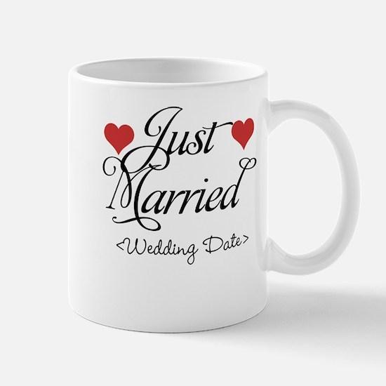 Just Marrried (Add Wedding Date) Mug