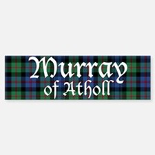 Tartan - Murray of Atholl Bumper Bumper Sticker