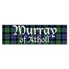 Tartan - Murray of Atholl Bumper Stickers