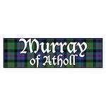 Tartan - Murray of Atholl Sticker (Bumper 10 pk)