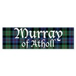 Tartan - Murray of Atholl Sticker (Bumper 50 pk)