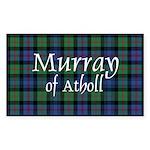 Tartan - Murray of Atholl Sticker (Rectangle)