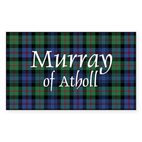 Tartan - Murray of Atholl Sticker (Rectangle 10 pk