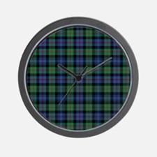 Tartan - Murray of Atholl Wall Clock