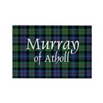 Tartan - Murray of Atholl Rectangle Magnet (10 pac