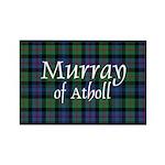 Tartan - Murray of Atholl Rectangle Magnet (100 pa