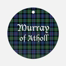 Tartan - Murray of Atholl Ornament (Round)