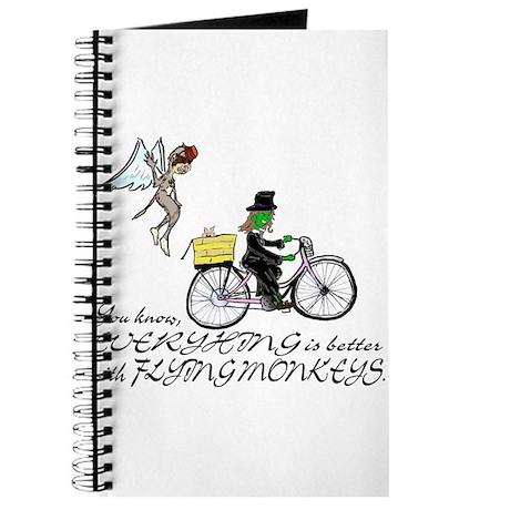better with flying monkeys Journal