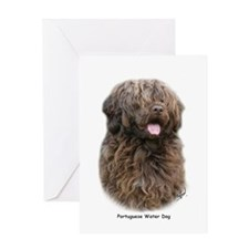 Portuguese Water Dog 9Y160D-023 Greeting Card