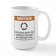 Conductor / Argue Mug