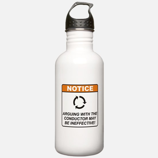 Conductor / Argue Water Bottle