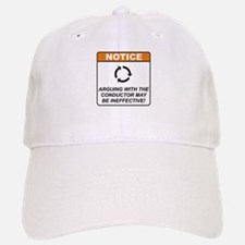 Conductor / Argue Baseball Baseball Cap