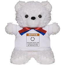 Conductor / Argue Teddy Bear