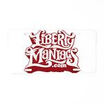 Liberty Maniacs Aluminum License Plate