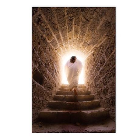 ''Resurrection of Jesus'' Postcards (8 pk)