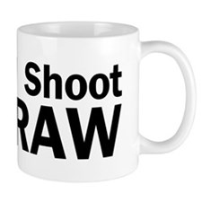 i shoot RAW Mug