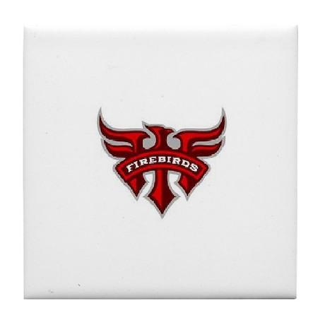 Firebird Tile Coaster