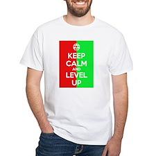 'Keep Calm' Level Up Shirt