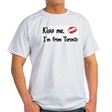 Kiss Me: Toronto Ash Grey T-Shirt