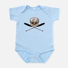SKULL OARS CROSSBONES Infant Bodysuit