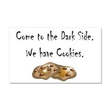 Come to the Dark Side. Car Magnet 20 x 12