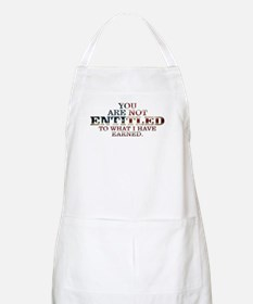 YOU ARE NOT ENTITLED Apron
