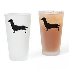 Dachshund Drinking Glass