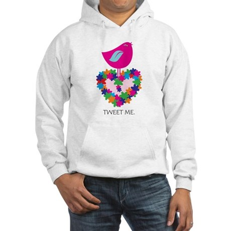 Peace. Smokin' Hot Pink! Hooded Sweatshirt