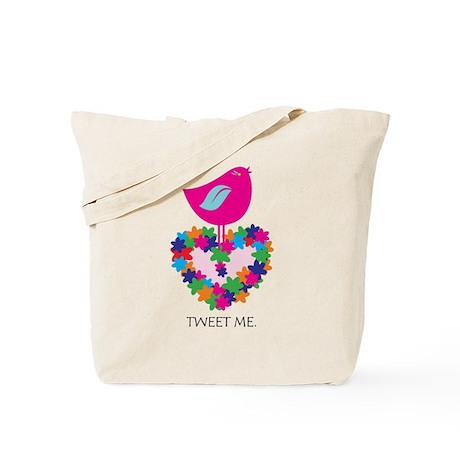 Peace. Smokin' Hot Pink! Tote Bag