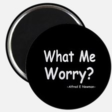"What Me Worry? 2.25"" Magnet (10 pack)"