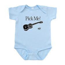 Pick Me! Ukulele Infant Bodysuit