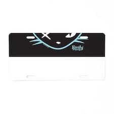 Cathead Miles Aluminum License Plate