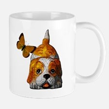 Pup and Butterfly Mug